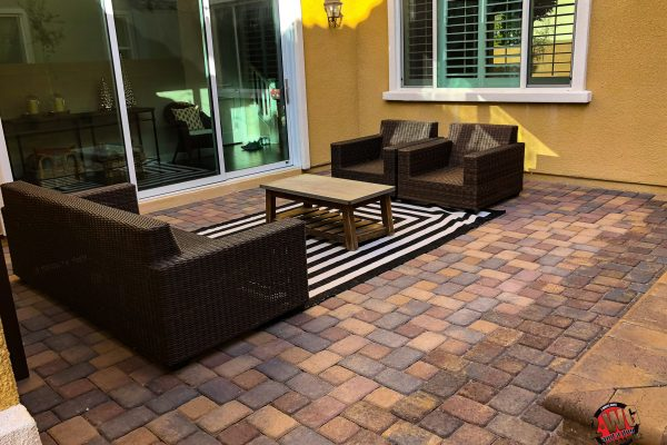 Custom Landscaping Synthetic Grass Pavers Desert