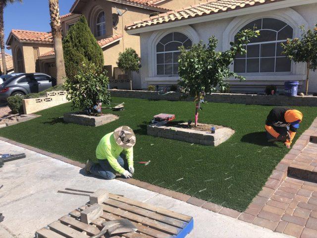 2 White Guys Landscaping Las Vegas and Henderson11