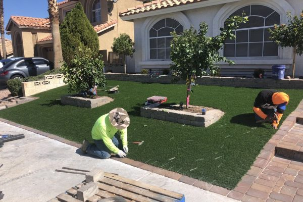 Synthetic Grass Services in Las Vegas, Nevada 2 White Guys20
